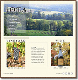 Iota Cellars - Oregon Pinot Noir